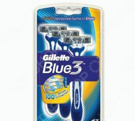 Набор бритв одноразовых Gillette Blue 3