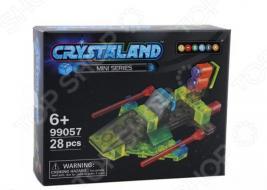 Конструктор для мальчика N-BRIX Crystaland «Космическая Яхта»