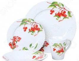 Набор столовой посуды «Вишневый сад»: 16 предметов