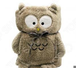 Плед-игрушка Coool Toys «Серая сова»