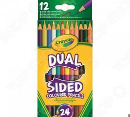 Набор двусторонних цветных карандашей Crayola 1012181