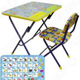 Набор мебели детский: стол и стул Ника «Азбука»
