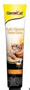 Добавка витаминная для кошек GimCat Multi-Vitamin Paste Extra Omega 3 & 6