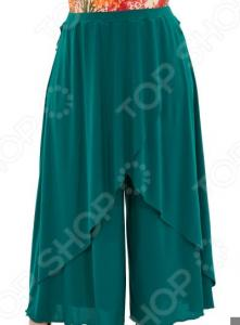 Юбка-брюки Pretty Woman «Крылья Пегаса». Цвет: зеленый