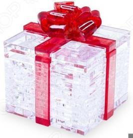 Кристальный пазл 3D Crystal Puzzle «Подарок»