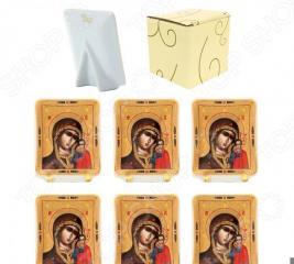 Набор декоративных тарелок Elan Gallery «Казанская Божья Матерь»