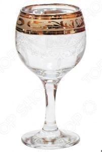 Набор фужеров для вина Гусь Хрустальный «Русский Узор»