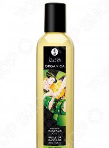 Масло массажное возбуждающее Shunga Organica «Зеленый чай»