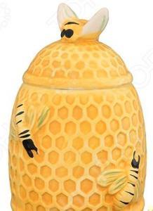 Горшочек для меда Elan Gallery «Пчелы на сотах»