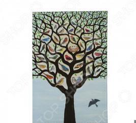 Визитница Mitya Veselkov «Дерево с птичками»