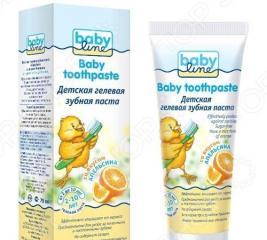 Паста зубная для детей BABYLINE «Апельсин»
