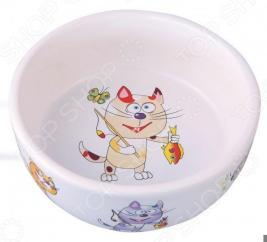 Миска для кошек DEZZIE «Улов»
