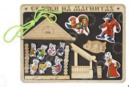 Доска магнитная для ребенка БЭМБИ «Сказки на магнитах. Волк и 7 козлят»