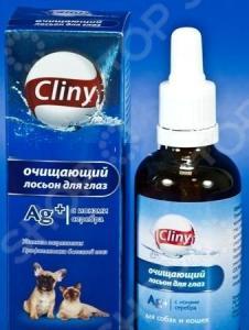 Лосьон очищающий для глаз кошек и собак Cliny К105