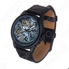 Часы наручные Mitya Veselkov «Часовой механизм» MVBlack