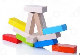 Игрушка деревянная Alatoys «Кирпичики» НКП1210
