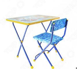 Набор мебели детский: стол и стул Ника «Познайка» ЯВ050253