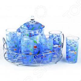 Набор: кувшин и 6 стаканов «Вкус лета». В ассортименте