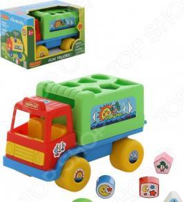 Машинка игрушечная Cavallino «Грузовик Забава» в коробке
