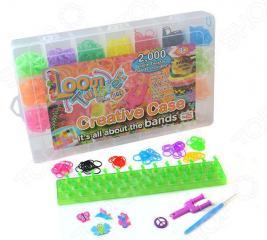 Набор цветных резинок для плетения фенечек Loom Twister SV11617