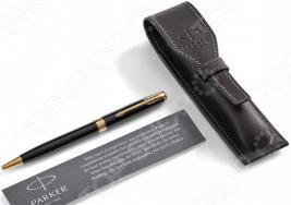 Набор подарочный: ручка шариковая и чехол Parker Sonnet LaqBlack GT