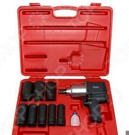 Набор инструмента: пневмогайковерт с ударными удлиненными головками Force F-6111D