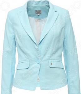 Жакет Finn Flare B15-11024. Цвет: светло-голубой