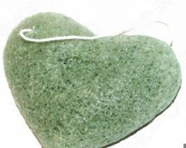 Губка-спонж Bradex «Конняку» с экстрактом зеленого чая. В ассортименте