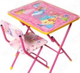Набор мебели детский: стол и стул Ника «Маленькая принцесса»