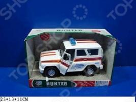 Машина инерционная Joy Toy «УАЗ Hunter - МЧС» Р40513