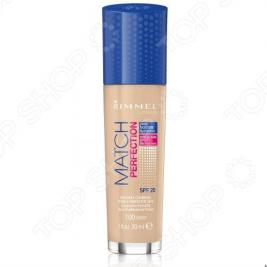 Крем тональный Rimmel Match Perfection Foundation