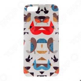 Чехол для iPhone 5 Mitya Veselkov «Птички-невелички»