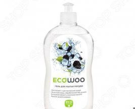 Гель для мытья посуды Ecowoo Е089092 «Ежевика»