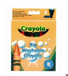 Набор восковых мелков Crayola Big Washable Grayons