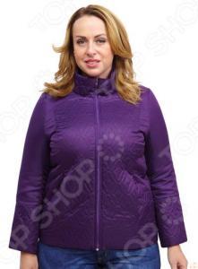 Куртка СВМ-ПРИНТ «Фотина». Цвет: фиолетовый