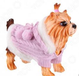 Свитер-попона для собак DEZZIE «Принцесса»