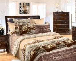 Комплект постельного белья ТексДизайн «Венеция». 1,5-спальный