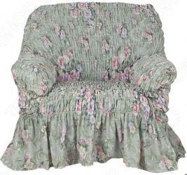 Натяжной чехол на кресло Еврочехол «Фантазия. Феличита»