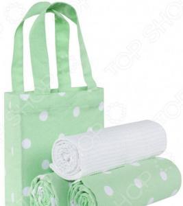 Набор полотенец и сумка Guten Morgen «Горох»