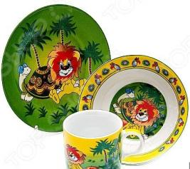Набор посуды для детей Loraine «Львенок» 23390