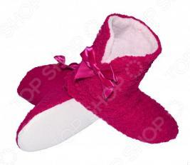 Тапочки-угги домашние Burlesco H44. Цвет: розовый