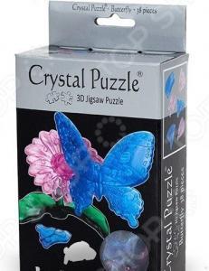 Кристальный пазл 3D Crystal Puzzle «Бабочка Голубая»