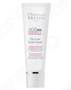 Маска для увядающей кожи Christian Breton Paris «Золотая роскошь»