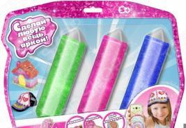 Набор для лепки из пластика 1 Toy Crystalike Т10850. В ассортименте