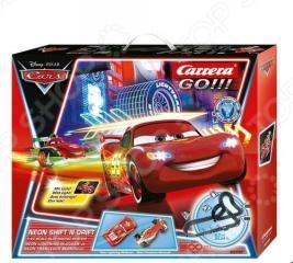 Трек гоночный Carrera Neon Cup
