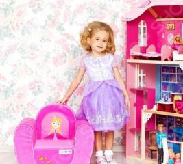 Кресло детское PAREMO «Принцесса»