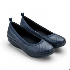 Балетки элегантные Walkmaxx Comfort 2.0. Цвет: синий