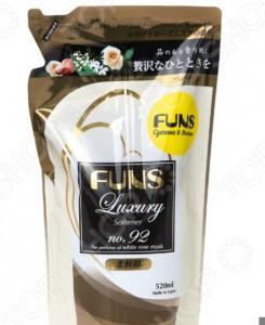Кондиционер парфюмированный для белья FUNS ЗБ «Нежность шелка» с ароматом белой мускусной розы