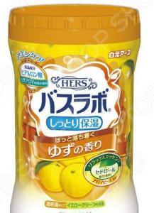 Соль для ванны Hakugen Eartn HERS Bath Labo с ароматом юдзу