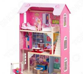 Кукольный дом с аксессуарами PAREMO «Муза»